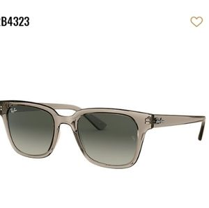 {Ray-Ban} NWT Unisex Gray Gradient Sunglasses